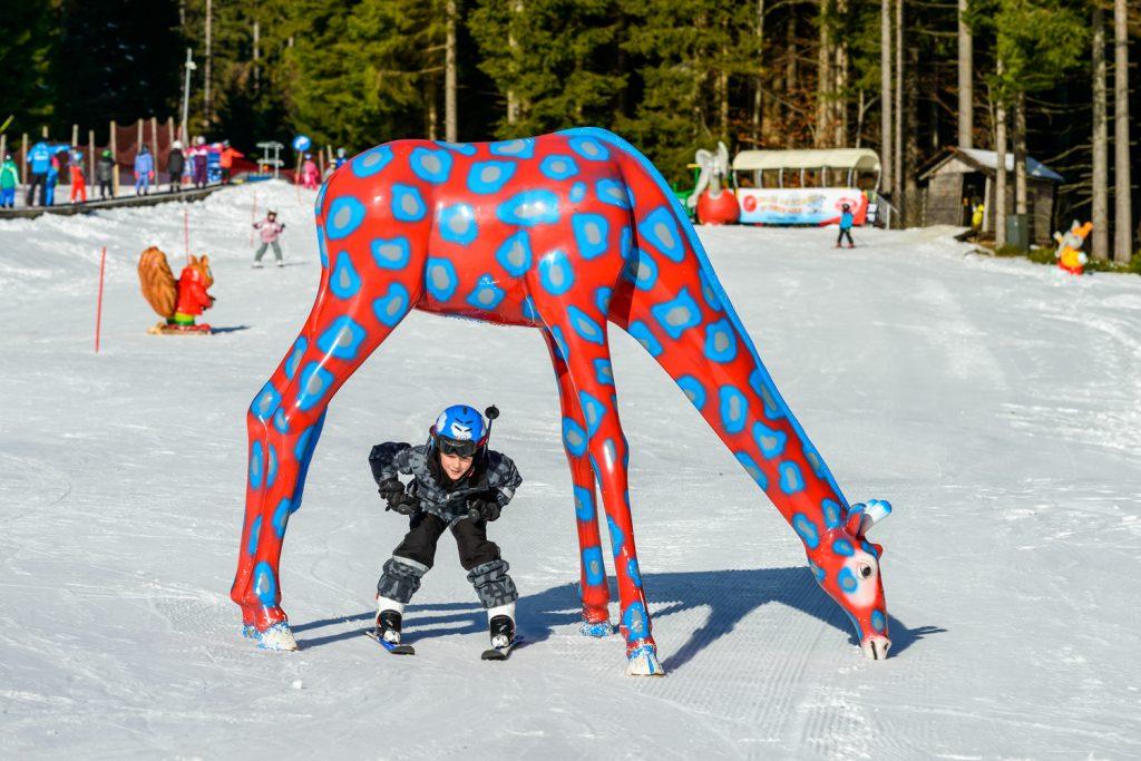"""Skispaß im Kinderland """"Elefuntasia"""""""